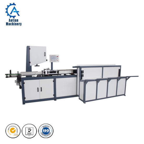 Roll Plate Length Roll Toilet Paper Automatic Band Sawing Machine