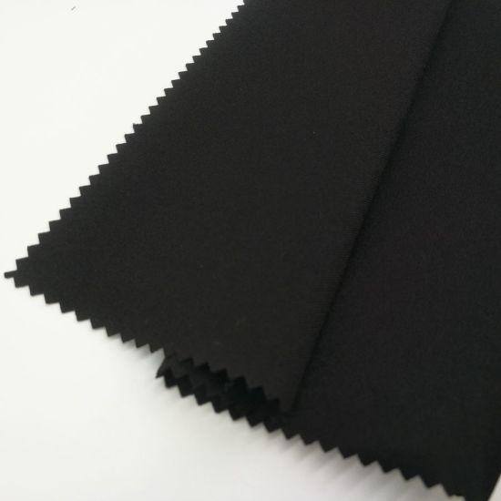 Twill 4 Way Stretch Spandex Polyester Fabric for Sportswear