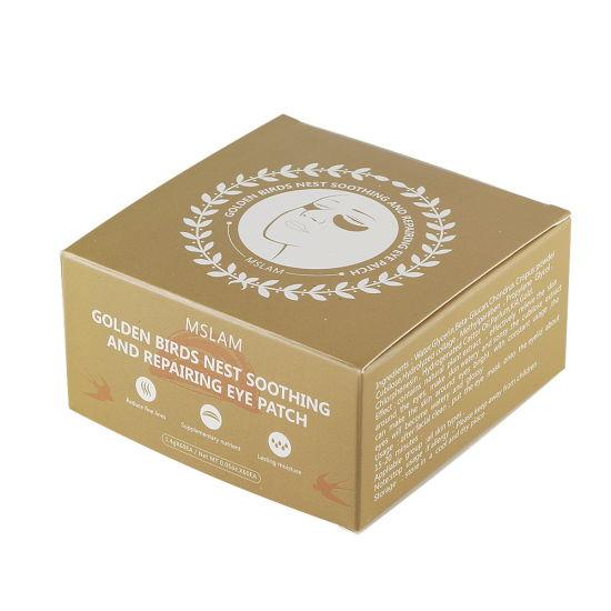 Hot Sale Anti Aging Anti Wrinkle Crystal Collagen 24K Gold Powder Eye Mask