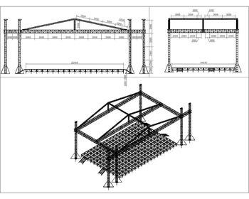 Finish Line Rk Aluminum Stage Truss Length 1500mmm Truss Size 100mm
