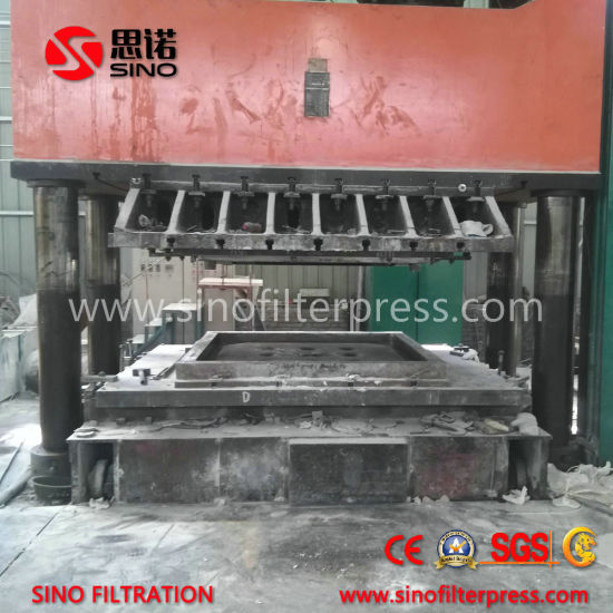 Best Quality Chamber Filter Press with Manual Hydraulic pictures & photos