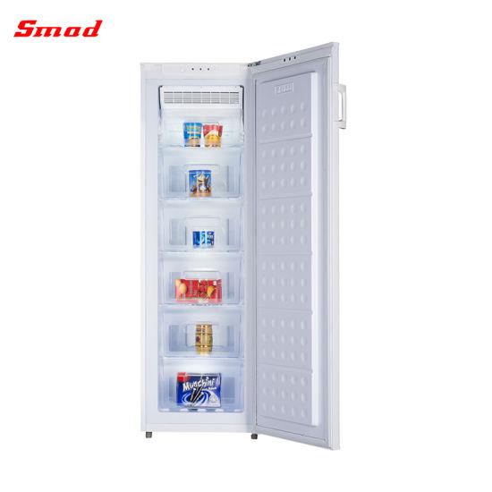 188L Sliding Door Free Standing Compact No Frost Ice Cream Upright Freezer