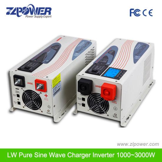 Best Selling 3000W, 12V/24V/48V Pure Sine Wave Inverter Charger, Home  Inverter, UPS Inverter with Bulit in AC Charger