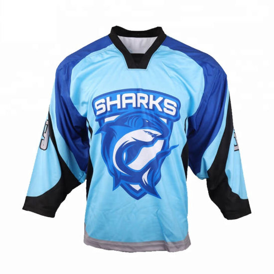 China Best Price Cheap Custom Hockey Uniforms Wholesale Blank New