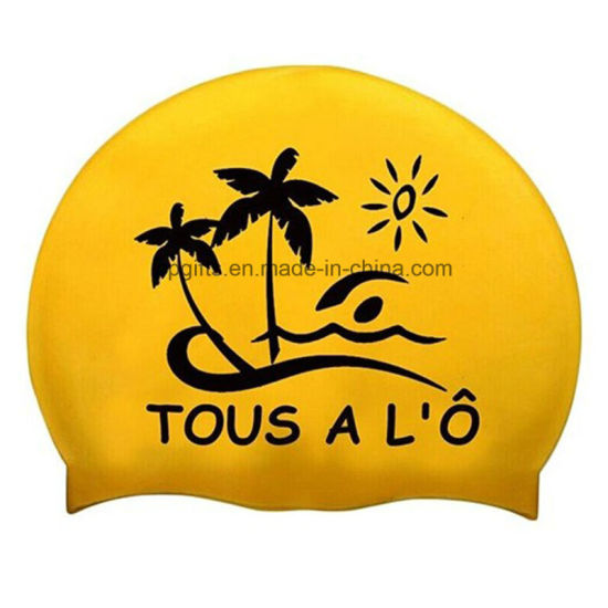 Customized Silicone Swimming Cap with Lowest Price pictures & photos