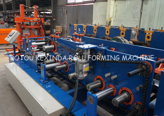 C Shape Channel Cold Steel Roll Forming Machine Manufacturer pictures & photos