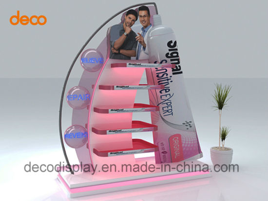 Paper Floor Display Stand Cardboard Display Shelf for Retail