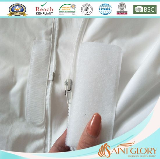 Twin (12 in. Deep) Mattress Protector with Zipper pictures & photos