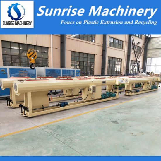 Plastic Pipe Extrusion Production Line for PVC HDPE PPR Pipe
