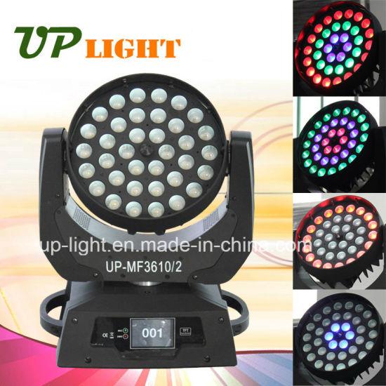 36*10W RGBW Aura LED 4 In1 Moving Head