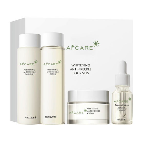 Strong Effects Acne Spot Freckle Moisturizing Brightening Oil Control Whitening Freckle Remove Skin Care Set