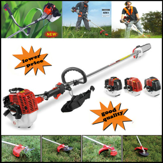 New High Quality Petrol Brush Cutter Grass Cutter 5 In1 With 52cc Petrol Engine Multi Brush Strimmer Hedge Trimmer Tree Cutter Garden Tools