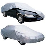 Fire Proof Waterproof Oxford Silver Car Cover