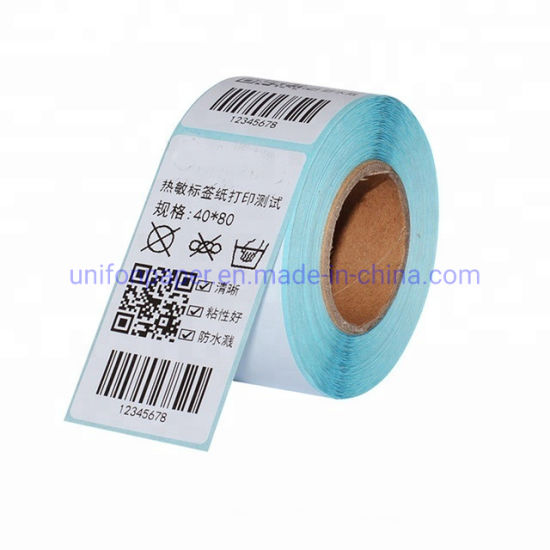 """Factory Directly Sales 4""""*6"""" Inch * 500 Self-Adhesive Thermal Label for Label Printer Machine"""
