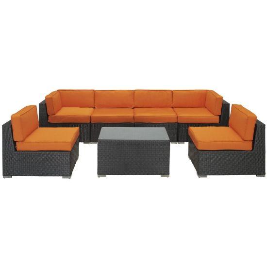 Ms-A365 Foshan Outdoor Furniture Classic Rattan Sofa Set