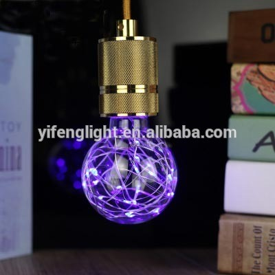 China Suppliers Environmental-Friendly Copper Wire Colorful Bulb LED Light Lamp pictures & photos