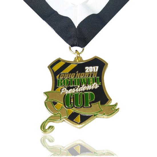 High-Grade 3D Sports Award World Cup Soccer Medal