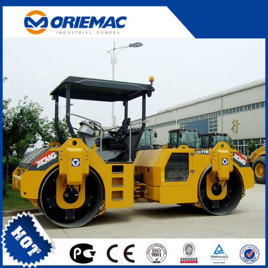 11 Ton Xd111e Double Drum Vibratory Road Roller pictures & photos