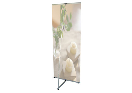 Hot Sale L Banner Stand for Indoor and Outdoor Use (DW-L-G)
