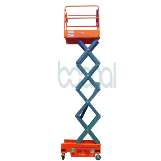 Mini Scissor Lift (Mobile) Max Working Height 5 (m) pictures & photos