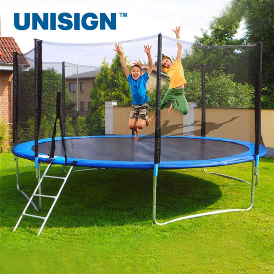 10FT, 12FT, Round Outdoor Trampolines for Sale, Trampoline with Enclosure Net, Trampoline for Children and Adults