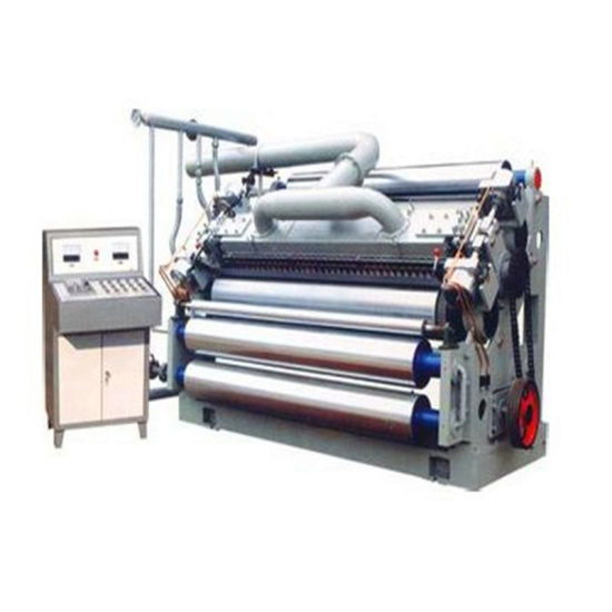 China Corrugated Cardboard Single Facer Corrugator Machine