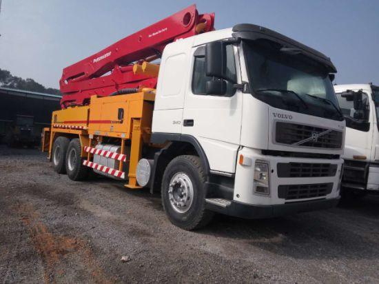 China Putzmeister 36m Volvo Chassis Concrete Pump Truck - China