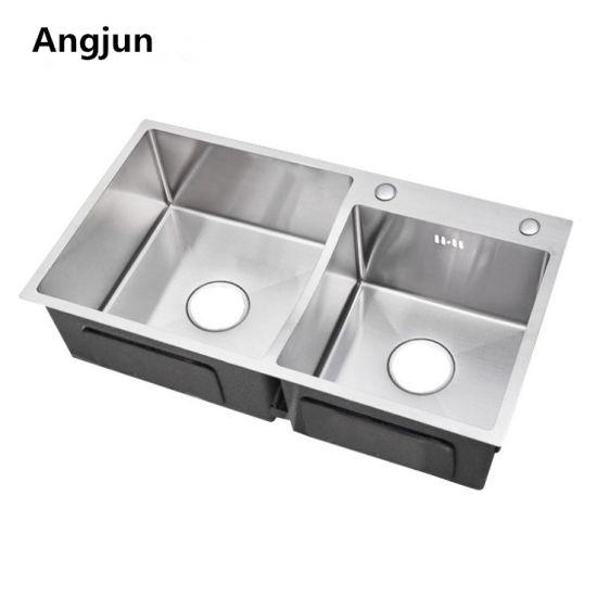 Surprising 304 Grade Stainless Steel Top Mount Drop In Kitchen Sink Home Interior And Landscaping Palasignezvosmurscom