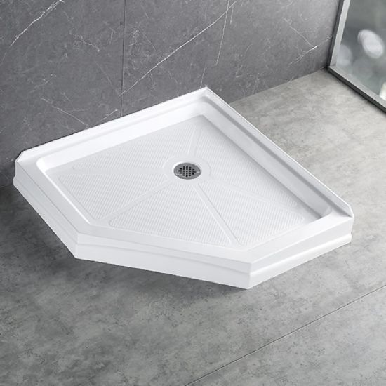 Bathroom Accessories Wholesale Shower Pans Cupc Wet Room Acrylic Shower Tray 38*38 in