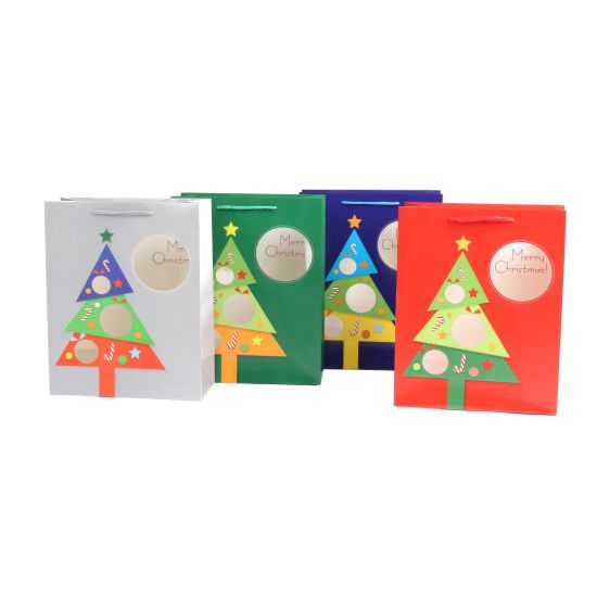 Christmas Bags In Bulk.China Die Cut And 3d Finishing Christmas Gift Shopping Paper