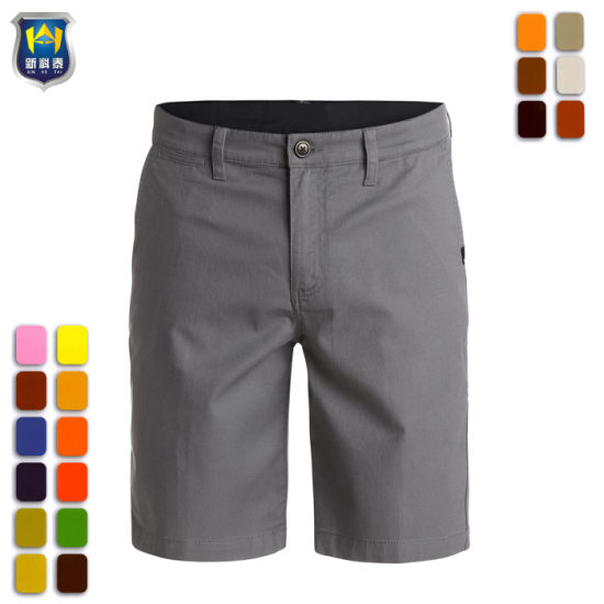 Summer Mens Poly Cotton Workwear Work Pants Work Short Trousers Working Clothes With Pockets Making Things Convenient For The People Workplace Safety Supplies Safety Clothing