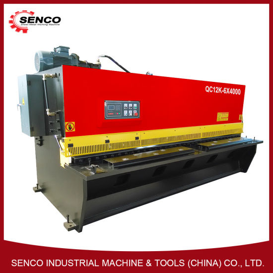 Senco Quality Various Rank and Swing Beam Metal Cutting Machine