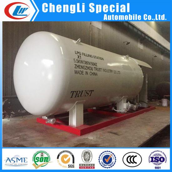 5000gallon ASME Propane Gas Tank LPG Sikd Station Suppliers