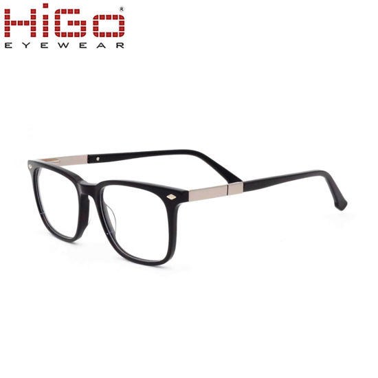 5610c1f614 2018 New Metal Temple Spring Hinge Acetate Optical Frames Stock. Get Latest  Price