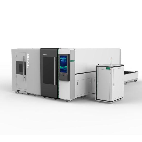 CNC High security dual-use sheet metal fiber laser cutting machine OR-PT