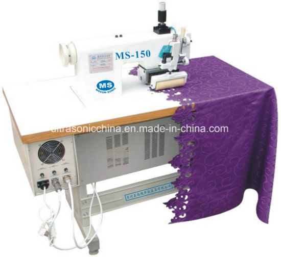 Ultrasonic Lace Sewing Machine for Cutting Lace