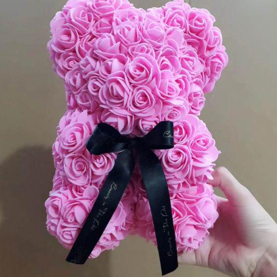 Small Christmas Gifts.Small Christmas Gifts Crafts 10 25cm Pink Rose Bear
