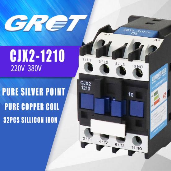 AC Contactor LC1D12 230V 12A CJX2-1210 5,5 kW