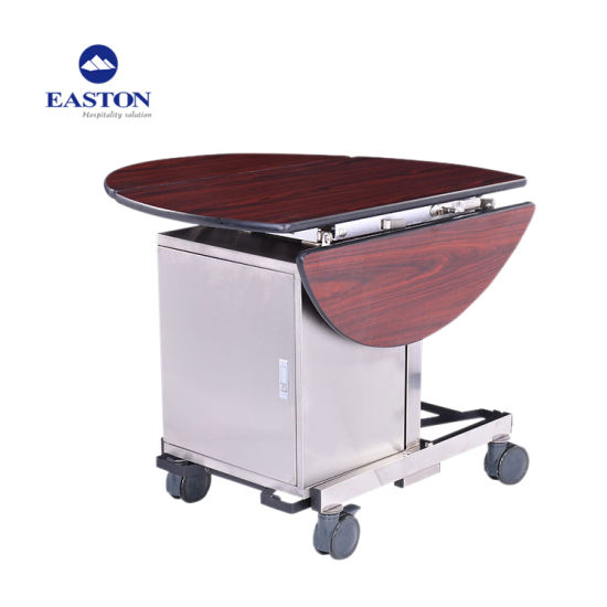 China Multi-Purpose Design Hotel Cleaning Trolley With Bag