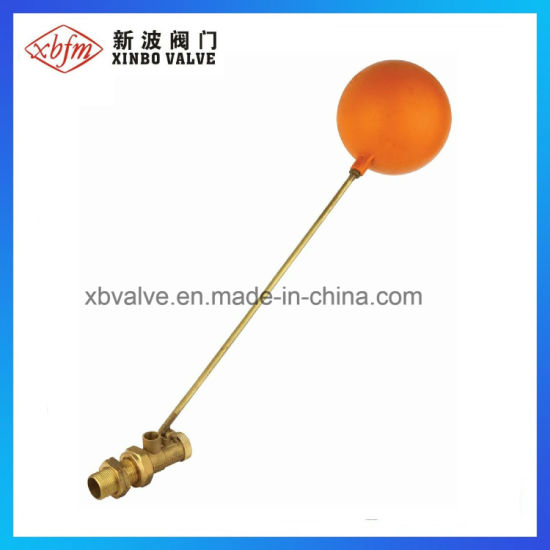 Brass Floating Ball Valve with Plastic Ball pictures & photos