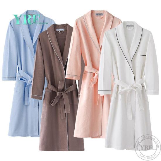 Yrf Hotel Bathrobe Hotel Linen 100% Cotton Bath Robe