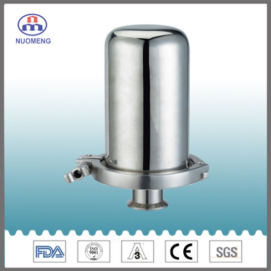 Sanitary Stainless Steel Clamp Rebreather (3A-No. NM140202-Height2)
