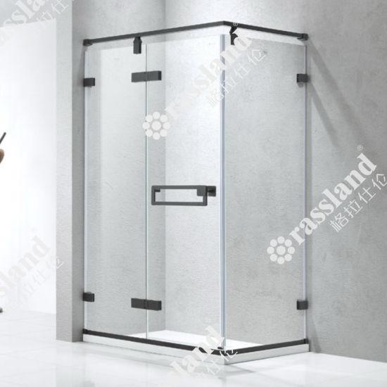 Modern Frameless Gl Shower Enclosure Hanging Wheel 304 Stainless Steel Sliding Room