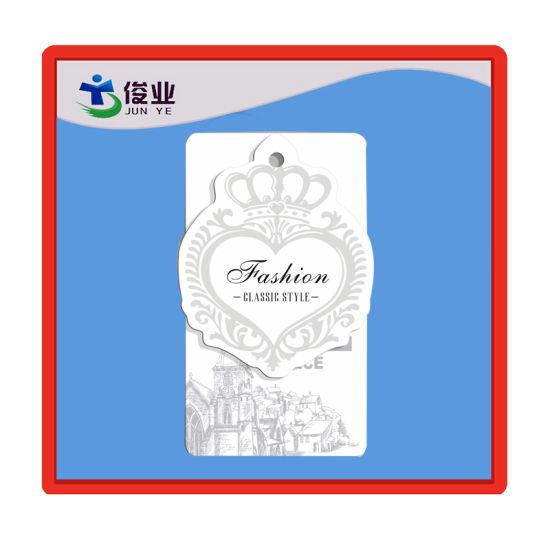 Custom Garment Hangtag with Stamping Logo