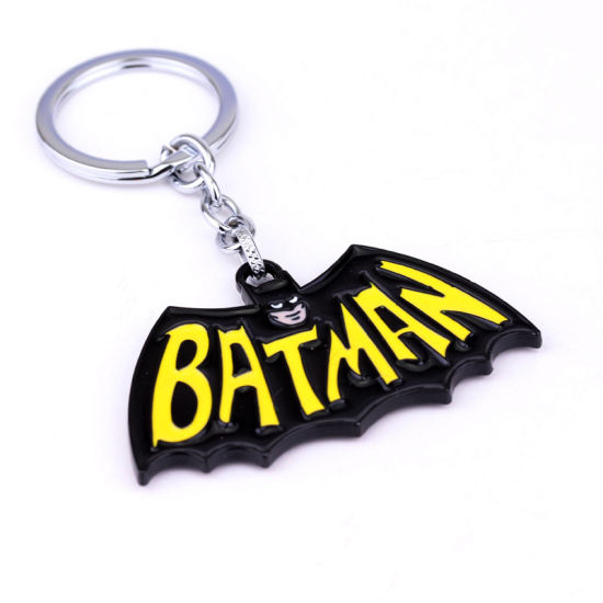China High Quality Bulk Metal Batman Marvel Key Chain