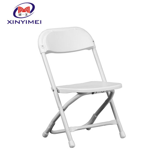 Hot Sale Top Quality PP Wholesale Plastic White Folding Chair