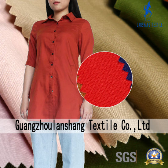 8%Spandex 92%Tencel T400 Fabric for Shirt Trousers Coat