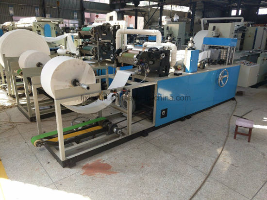 Full Automatic Folding Color Printing Napkin Tissue Paper Making Machine pictures & photos