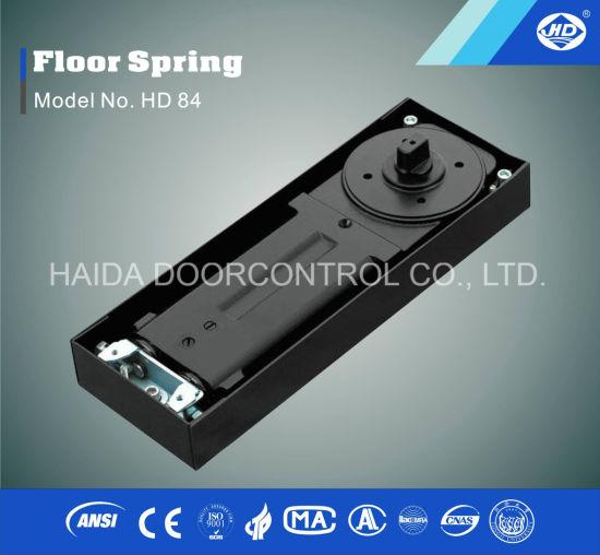 China Automatic Glass Door Floor Spring Hydraulic Hinge Closer