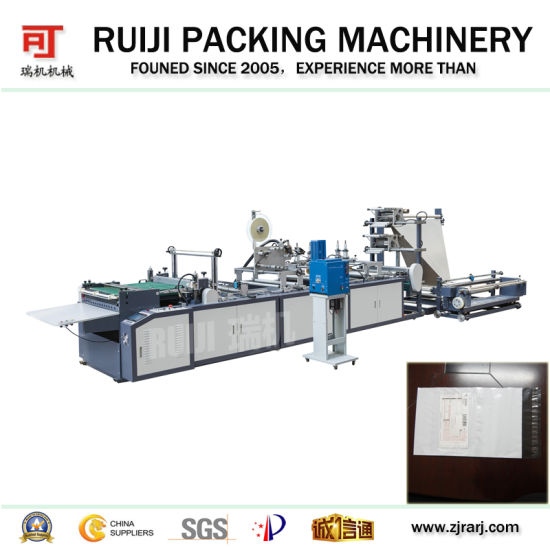 Automatic Multifunction PE Express (mail) Bag Making Machine with Glue Stop